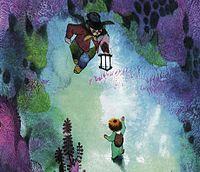 Buchillustration von Jiri Trnka