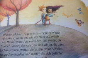aus: Am Tag, als Saida zu uns kam, Ill: Sonja Wimmer, Hammer Verl.