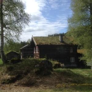 Alter Hof in der Telemark